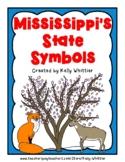 Mississippi State Symbol Cards