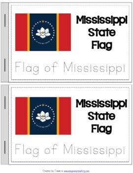 Mississippi State Symbols Notebook