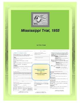 Mississippi Trial, 1955 Complete Literature and Grammar Unit