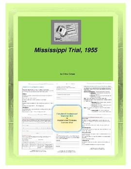 Mississippi Trial, 1955 Complete Literature and Grammar Unit