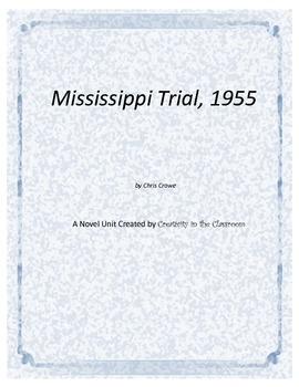 Mississippi Trial, 1955 Novel Unit Plus Grammar