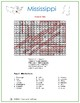 Mississippi - United States Word Search and Fill in the Blanks