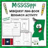 Mississippi Webquest Common Core Research Mini Book