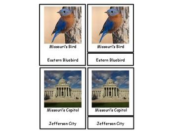 Missouri 3 Part Cards