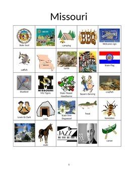 Missouri Bingo