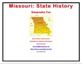 Missouri Board Game