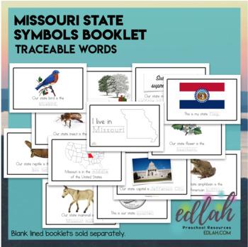 Missouri State Symbols Booklet By Melissa Schaper Tpt