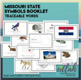 Missouri State Symbols Booklet - Traceable Words