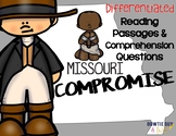 Missouri Compromise Differentiated Passages and Questions
