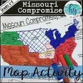 Missouri Compromise Map Activity