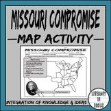 Missouri Compromise Map Lesson