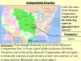 Missouri Compromise PowerPoint Presentation