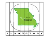 Missouri Counting to 10 Puzzle