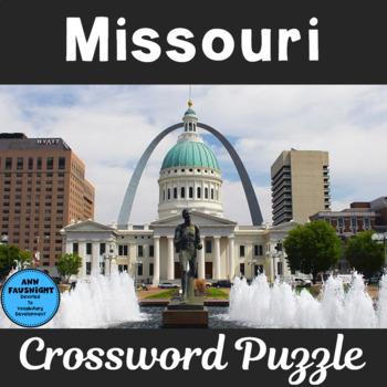 Missouri Crossword Puzzle