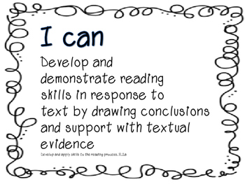 Missouri ELA Learning Standards 3rd Grade