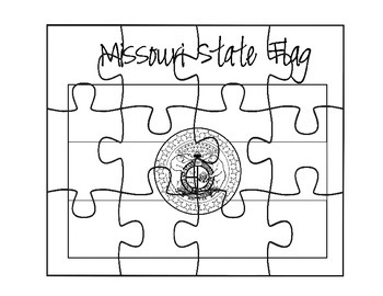Missouri Flag Puzzle