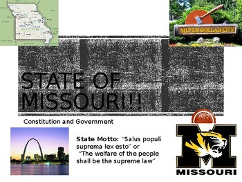 Missouri Govt. Power Point