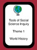Missouri Grade 6 - 8 World History Standards in I Can Statements