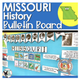 Missouri History Bulletin Board Set (Shiplap and Burlap Ve