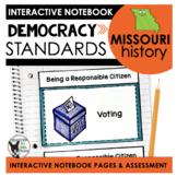 Missouri History   Democracy Standards Interactive Noteboo