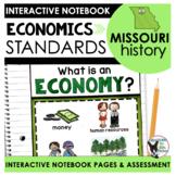 Missouri History   Economics Standards Interactive Noteboo