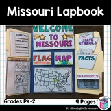 Missouri Lapbook for Early Learners - A State Study