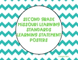 Missouri Learning Standards Learning Statement Posters - ELA