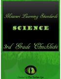 Missouri Learning Standards- Science- Checklists 3rd Grade