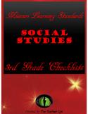 Missouri Learning Standards- Social Studies- Checklists 3rd Grade