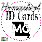 2020-2021 Homeschool ID Cards for Teachers and Students -