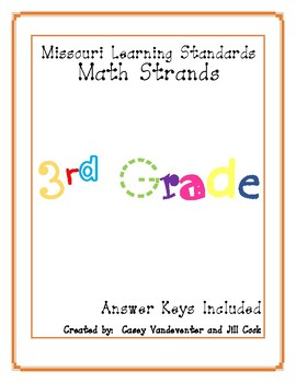 Missouri Math: Repeated Practice in 3rd Grade Learning Standards with Key