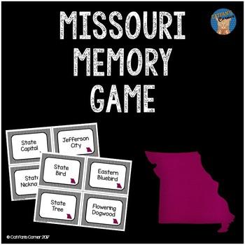 Missouri Memory Game