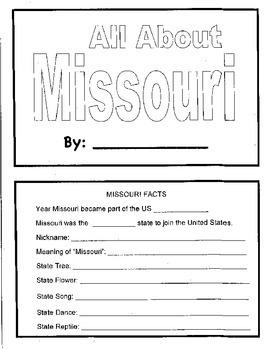 Missouri Mini Book
