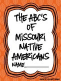 Missouri Native American ABC Booklet