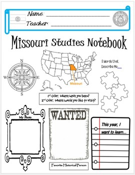 Missouri Notebook Cover