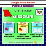Missouri Puzzle BUNDLE - Word Search & Crossword Activities - US States - Google