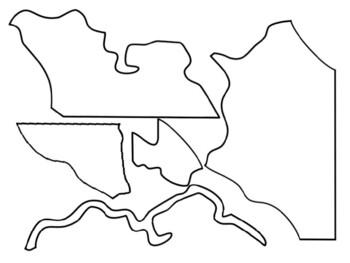 Missouri Regions cut and paste activity