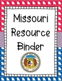 Missouri Resource Binder Cover