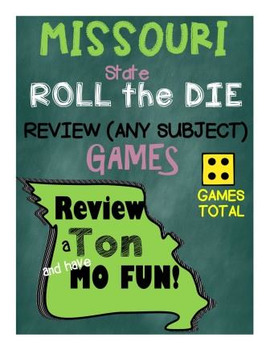 Missouri Roll the Die REVIEW Games