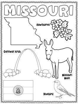 Missouri Word Search