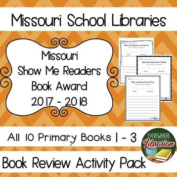 Missouri Show Me Readers Book Award 2017 - 2018 Book Revie