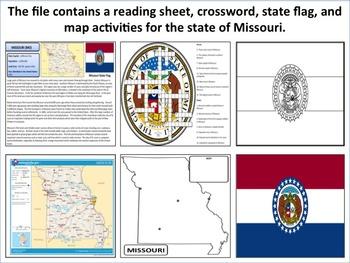 Missouri - State Activity Set