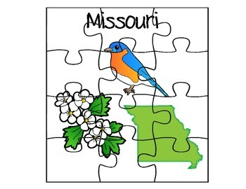Missouri State Fact Puzzle