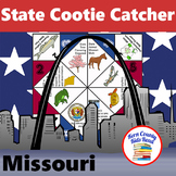 Missouri State Facts and Symbols Cootie Catcher Fortune Teller