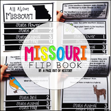 Missouri State Flipbook Interactive Activity for Social Studies