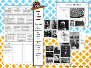 Missouri State Study & Bulletin Board Set