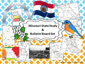Missouri State Study & Bulletin Board Set