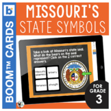 Missouri State Symbols Interactive Digital Task Cards
