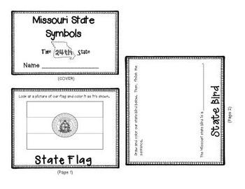 Missouri State Symbols Flipbook