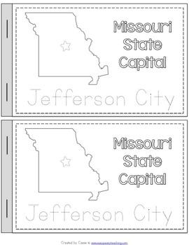 Missouri State Symbols Notebook